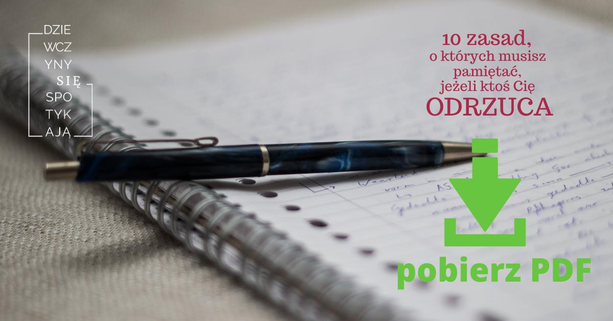 Odrzucenie - 10 zasad
